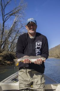 Brown Trout on the Caney Fork River