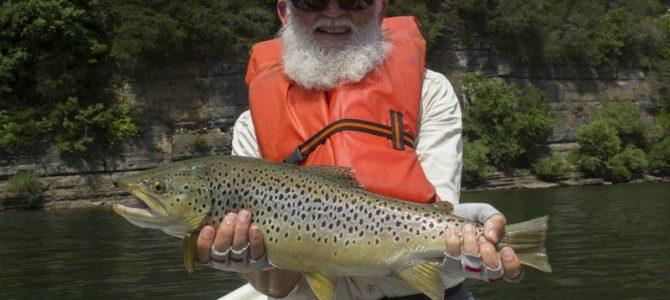 Big Fish Gary Strikes Again, This Time Streamer Fishing