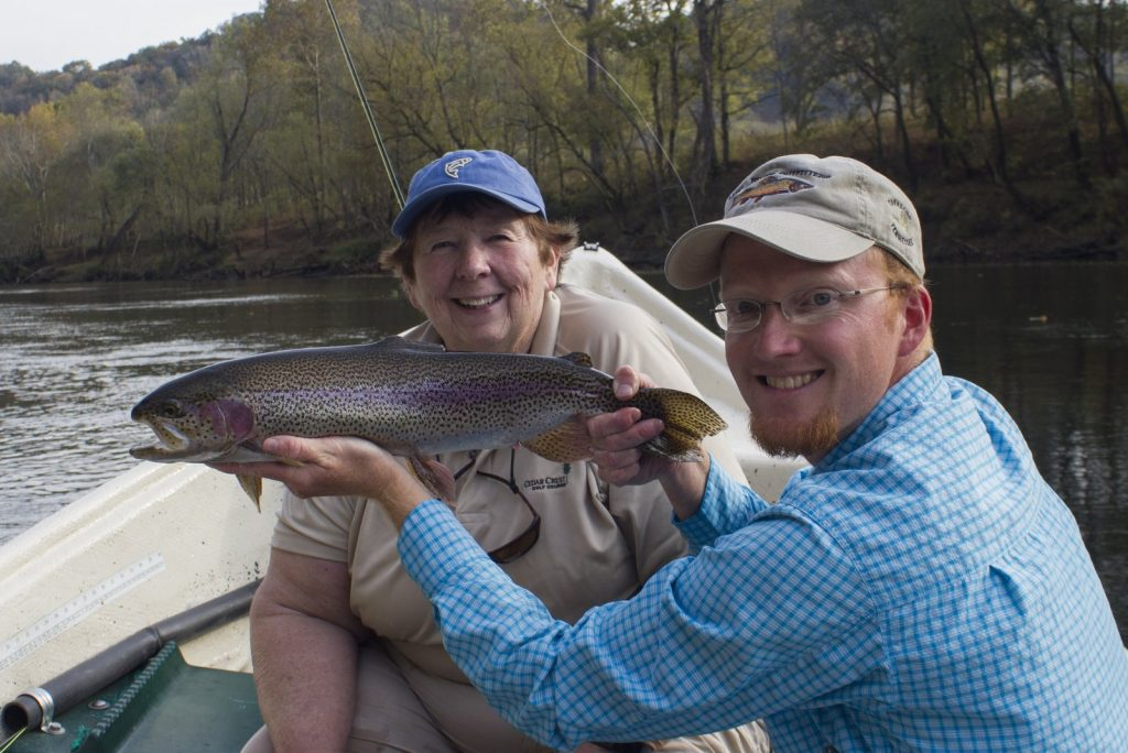 Caney Fork Trophy Rainbow Trout