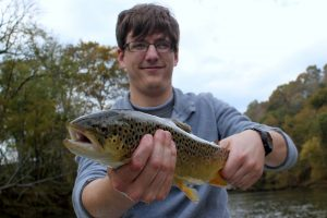 A big Caney Fork brown trout for Eric